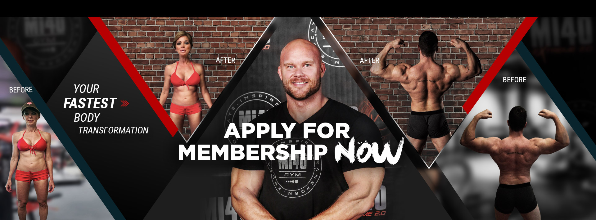 Apply for Mi40 Gym Membership Now